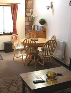 self-catering cottage watchet somerset Linhay kitchen